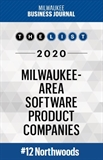 Milwaukee Business Journal Software Product List logo